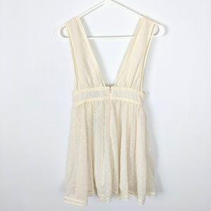 NBD Dresses - NBD Revolve Isaac Dress Swiss For Plunge Neckline